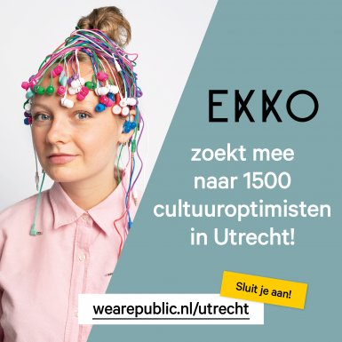 Campagnelancering We Are Public Utrecht in EKKO