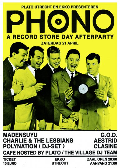 PHONO: Record Store Day Afterparty